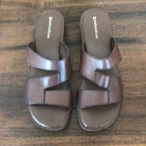 Naturalizer Leather Sandals Size 11